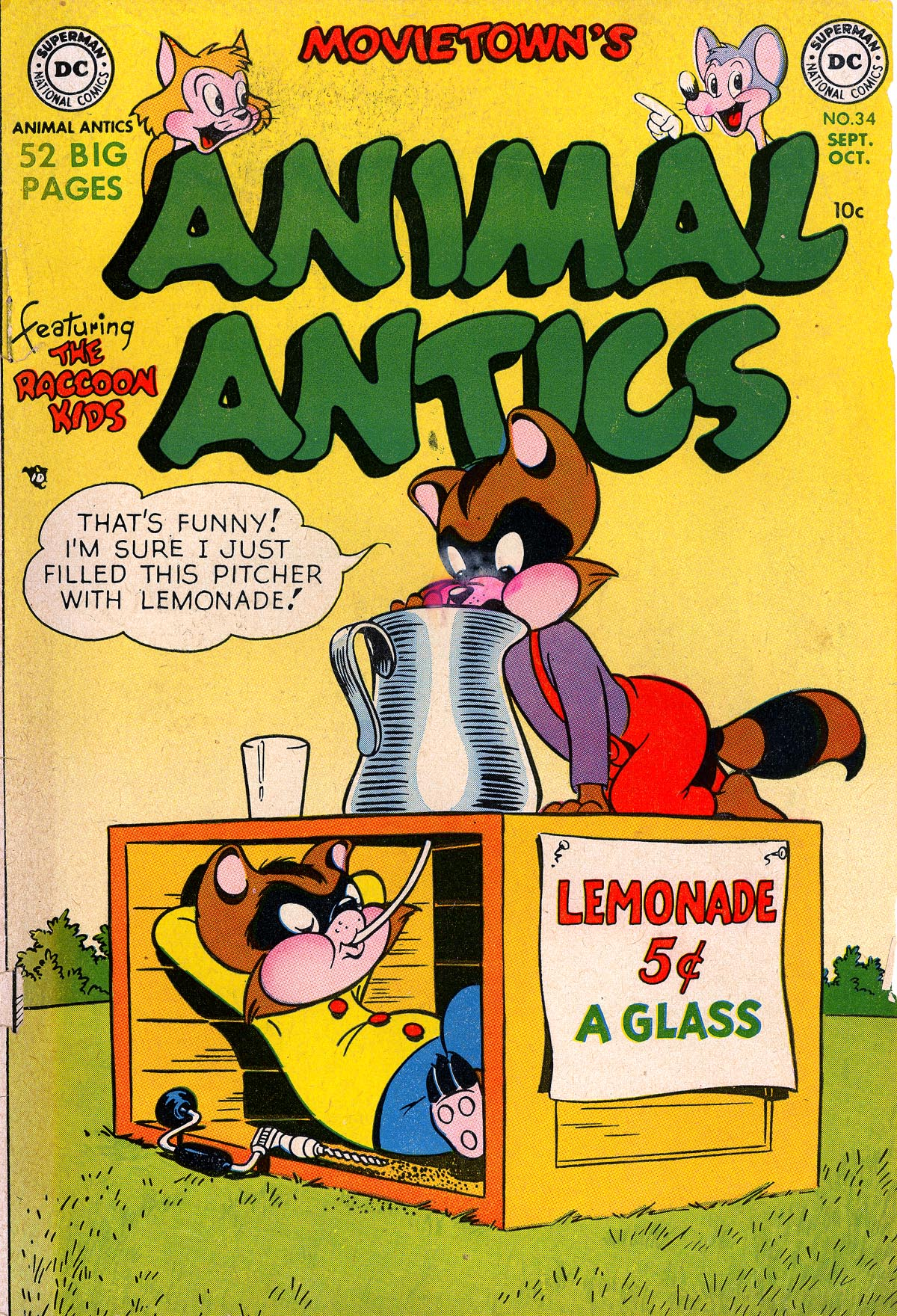 Read online Animal Antics comic -  Issue #34 - 1