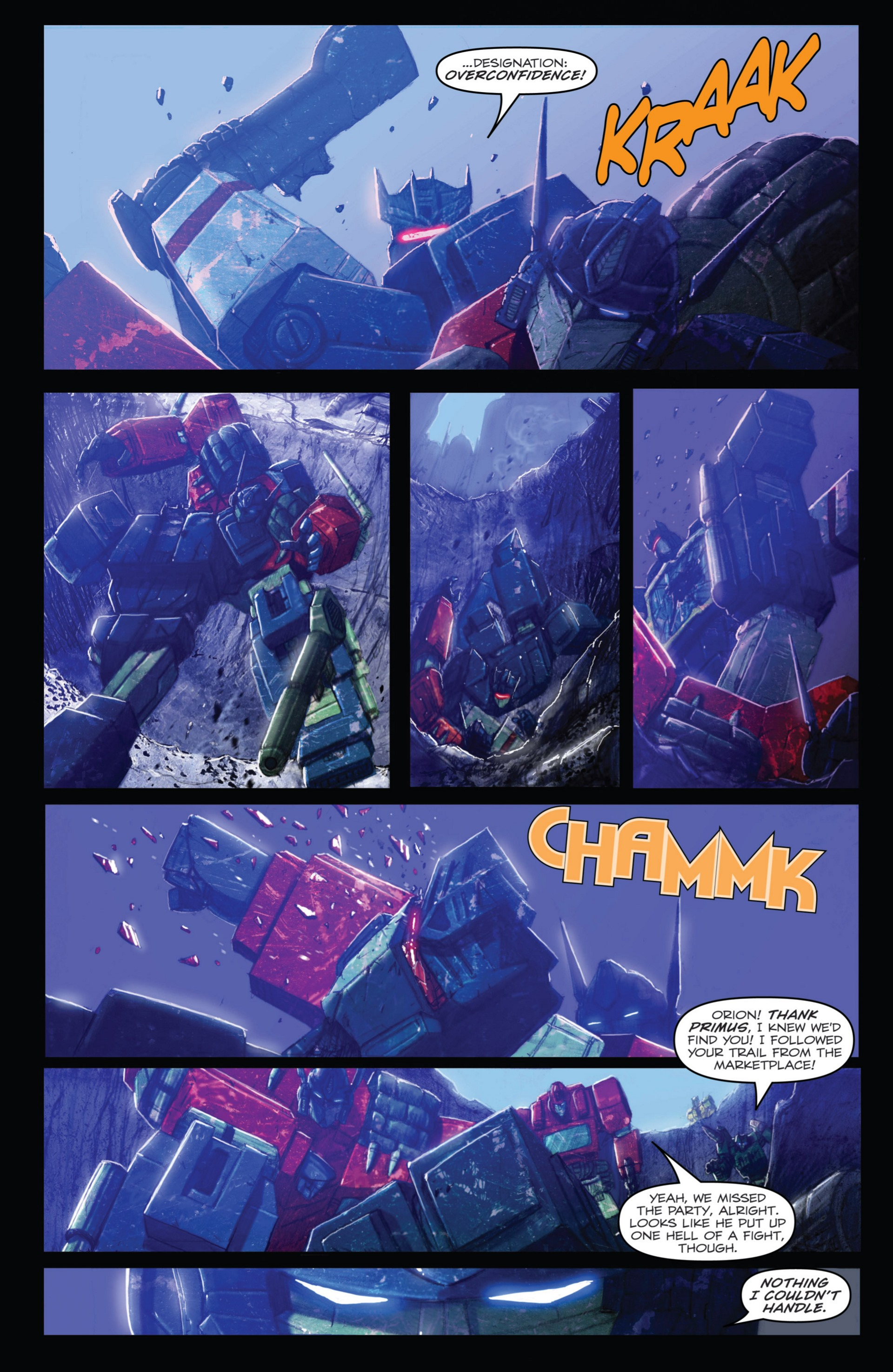Read online Transformers: Autocracy comic -  Issue # Full - 32