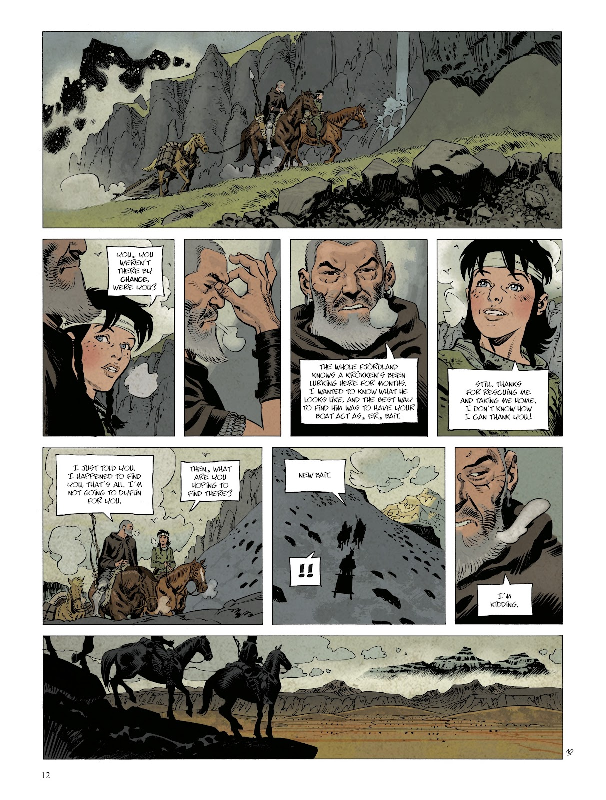 Read online Asgard comic -  Issue #1 - 14