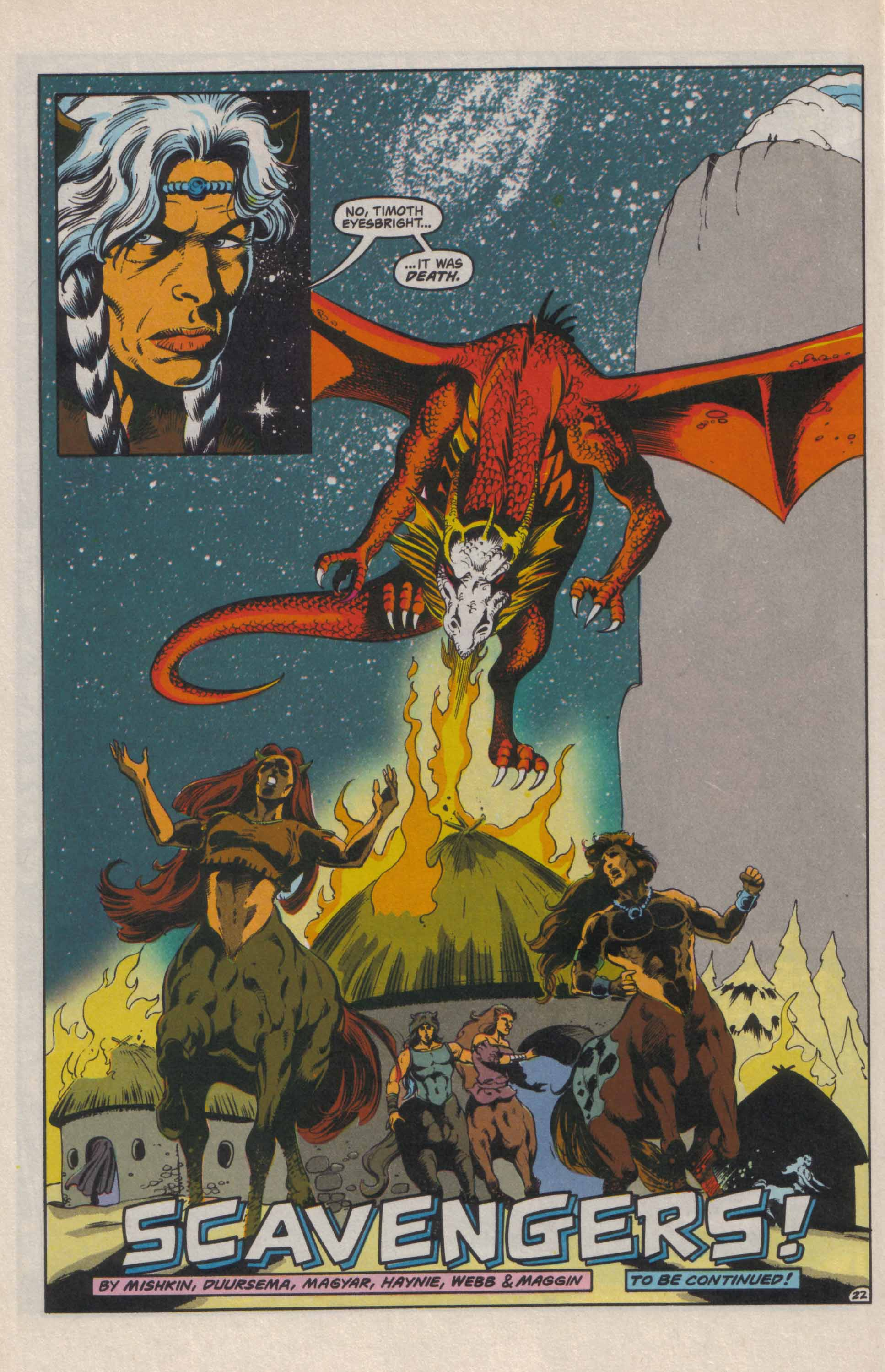 Read online Advanced Dungeons & Dragons comic -  Issue #24 - 23