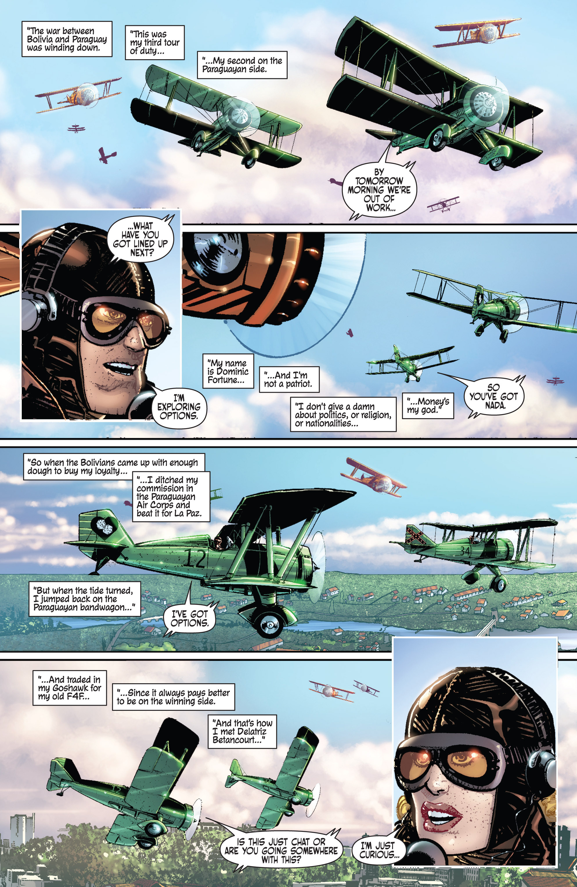 Read online Dominic Fortune comic -  Issue #1 - 2