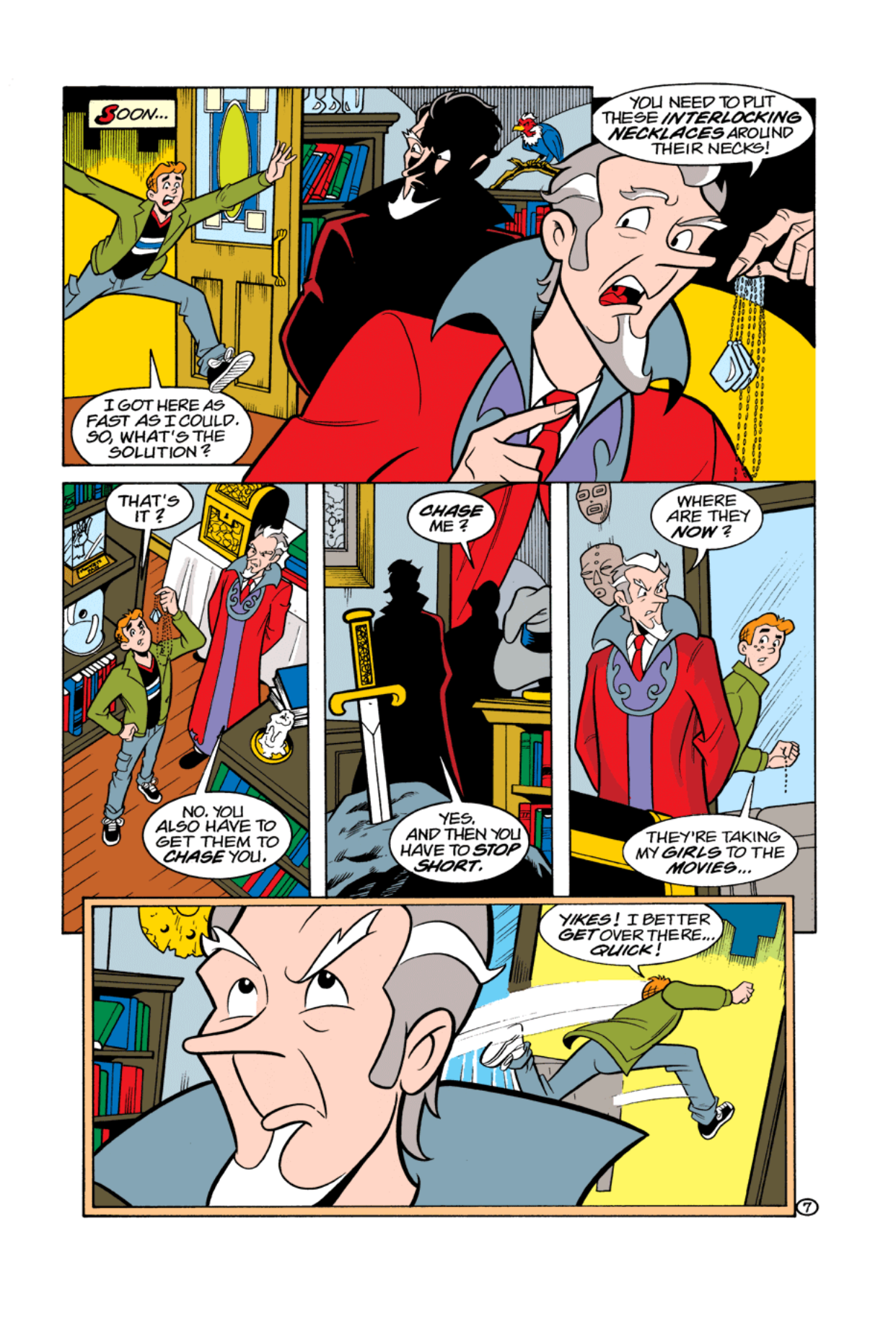 Read online Archie's Weird Mysteries comic -  Issue #4 - 9