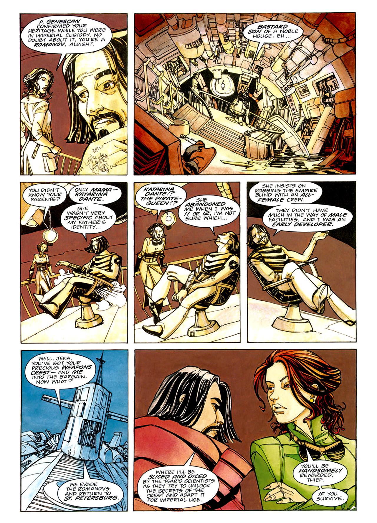 Read online Nikolai Dante comic -  Issue # TPB 1 - 35