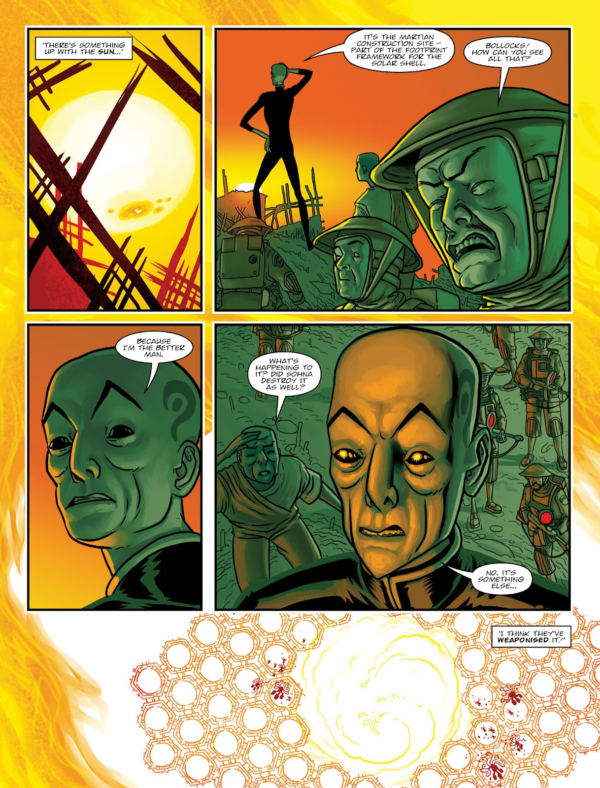 Read online 2000 AD comic -  Issue #2033 - 22