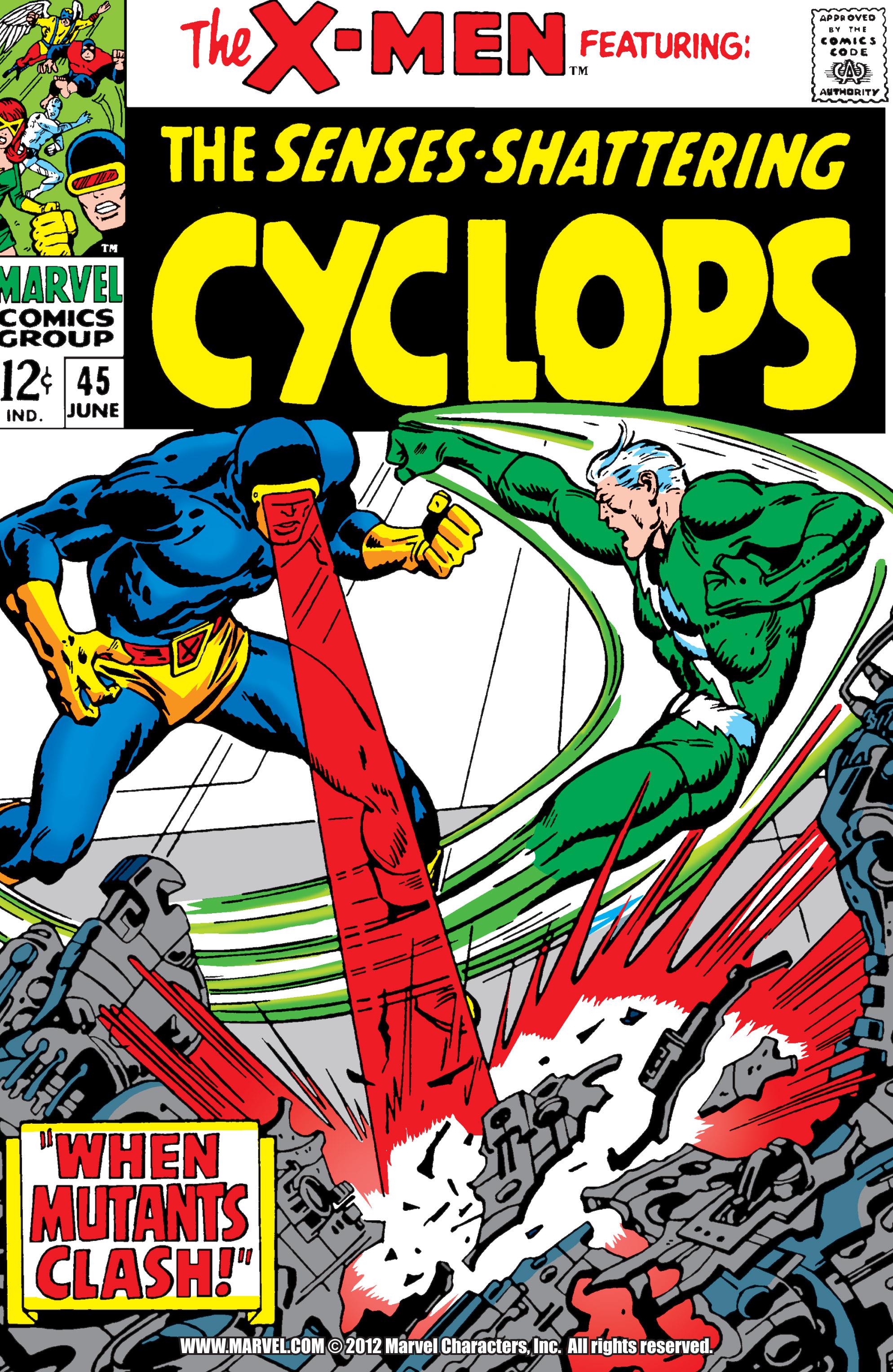 Uncanny X-Men (1963) 45 Page 0