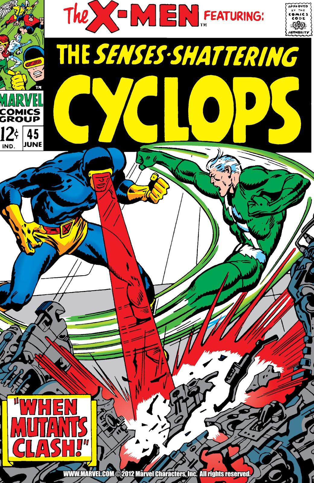Uncanny X-Men (1963) issue 45 - Page 1