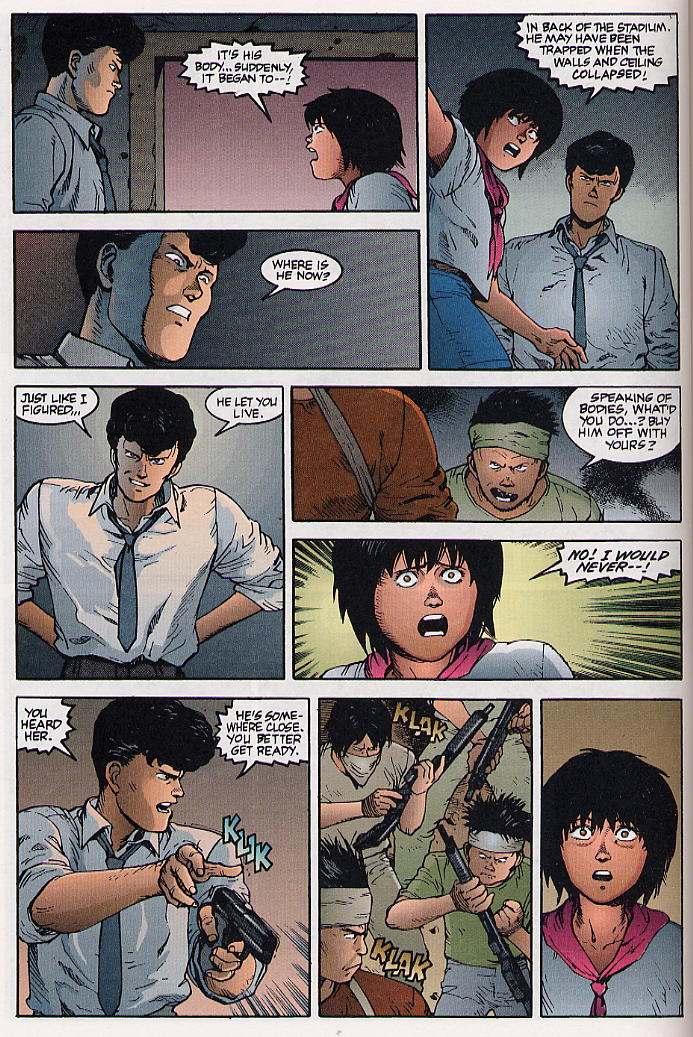 Read online Akira comic -  Issue #31 - 49