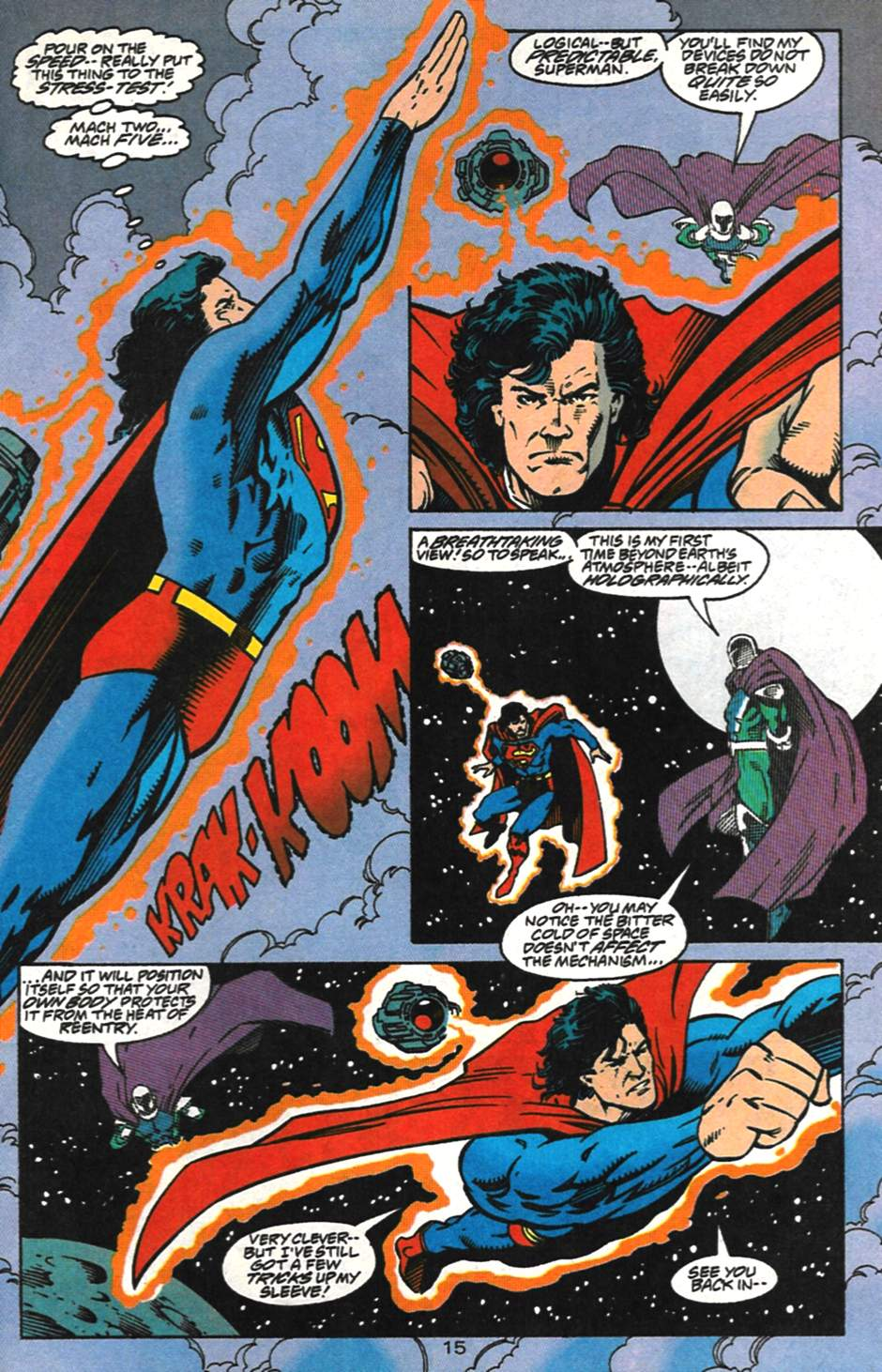 Read online Adventures of Superman (1987) comic -  Issue #517 - 16