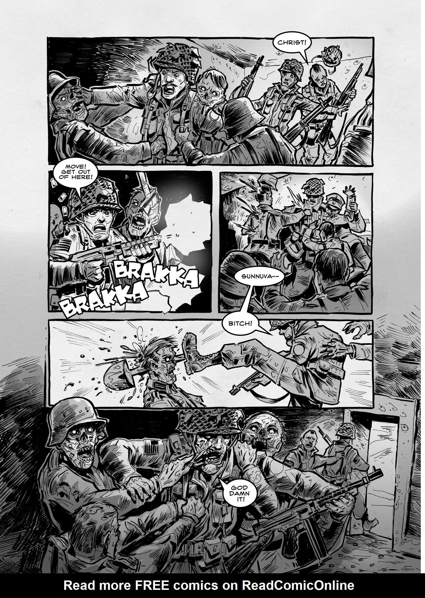 Read online FUBAR comic -  Issue #3 - 287