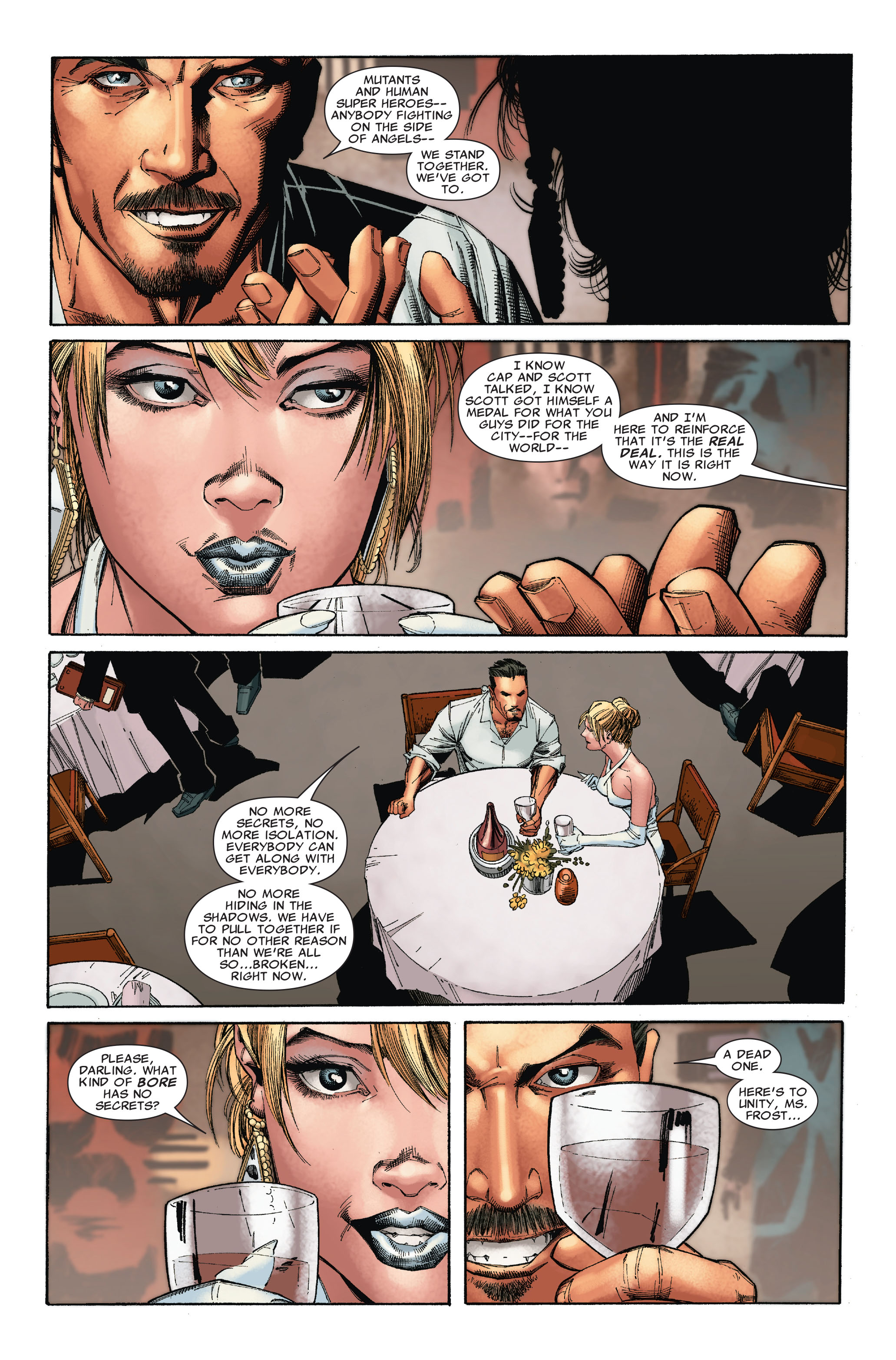 Read online Uncanny X-Men (1963) comic -  Issue #527 - 6
