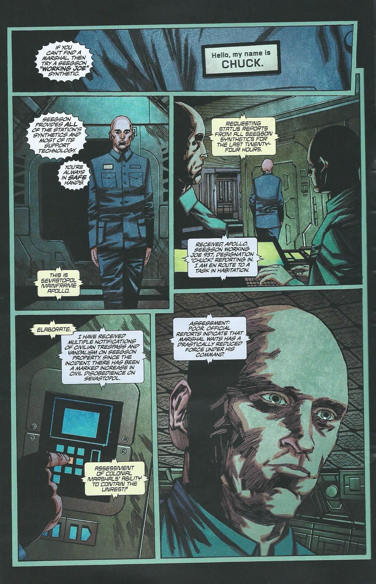 Read online Alien: Isolation comic -  Issue # Full - 3