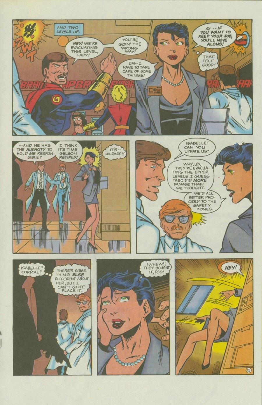 Read online Ex-Mutants comic -  Issue #8 - 18
