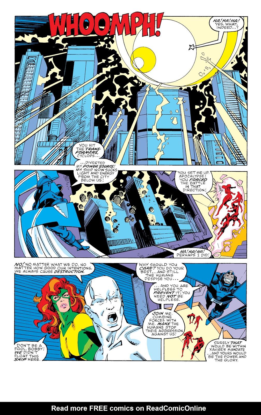 Read online X-Men Milestones: Fall of the Mutants comic -  Issue # TPB (Part 3) - 11