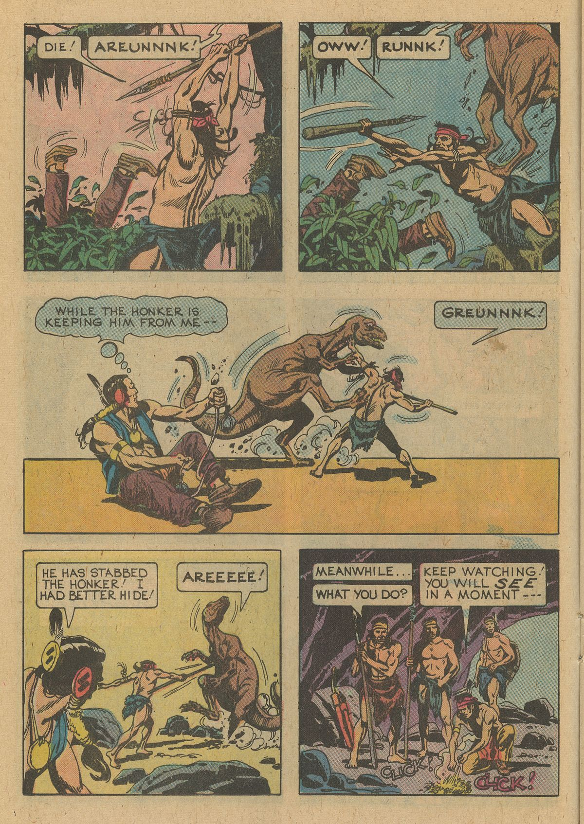 Read online Turok, Son of Stone comic -  Issue #109 - 12