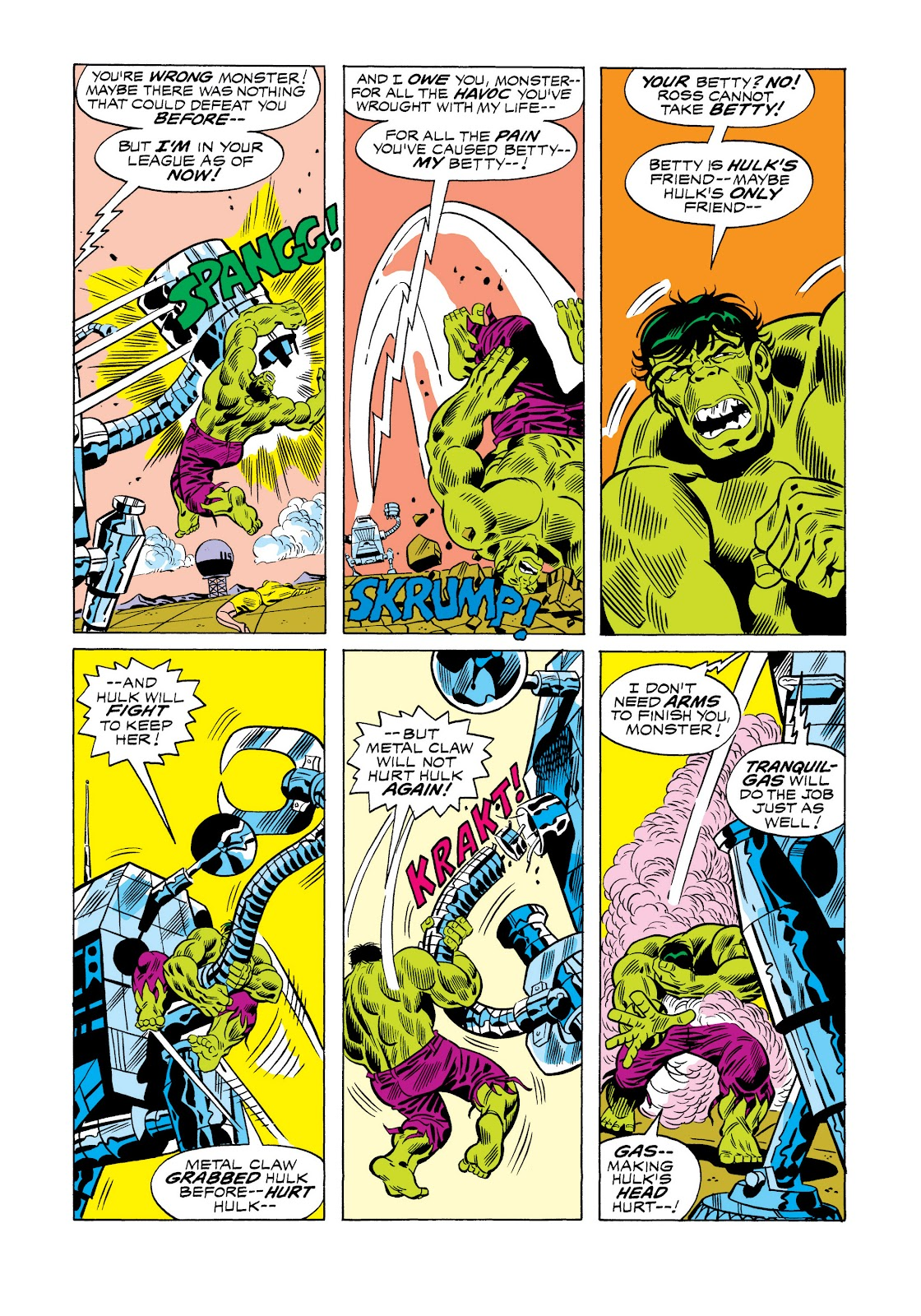 Read online Marvel Masterworks: The Incredible Hulk comic -  Issue # TPB 11 (Part 1) - 41