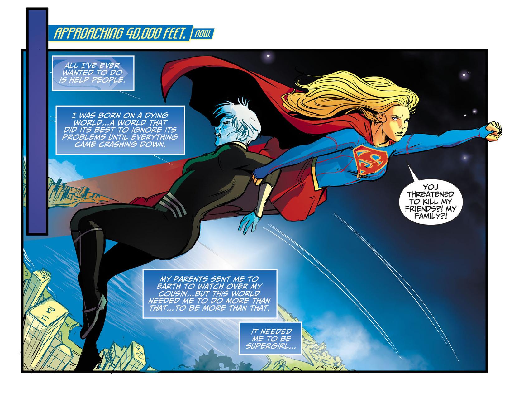 Read online Adventures of Supergirl comic -  Issue #13 - 3