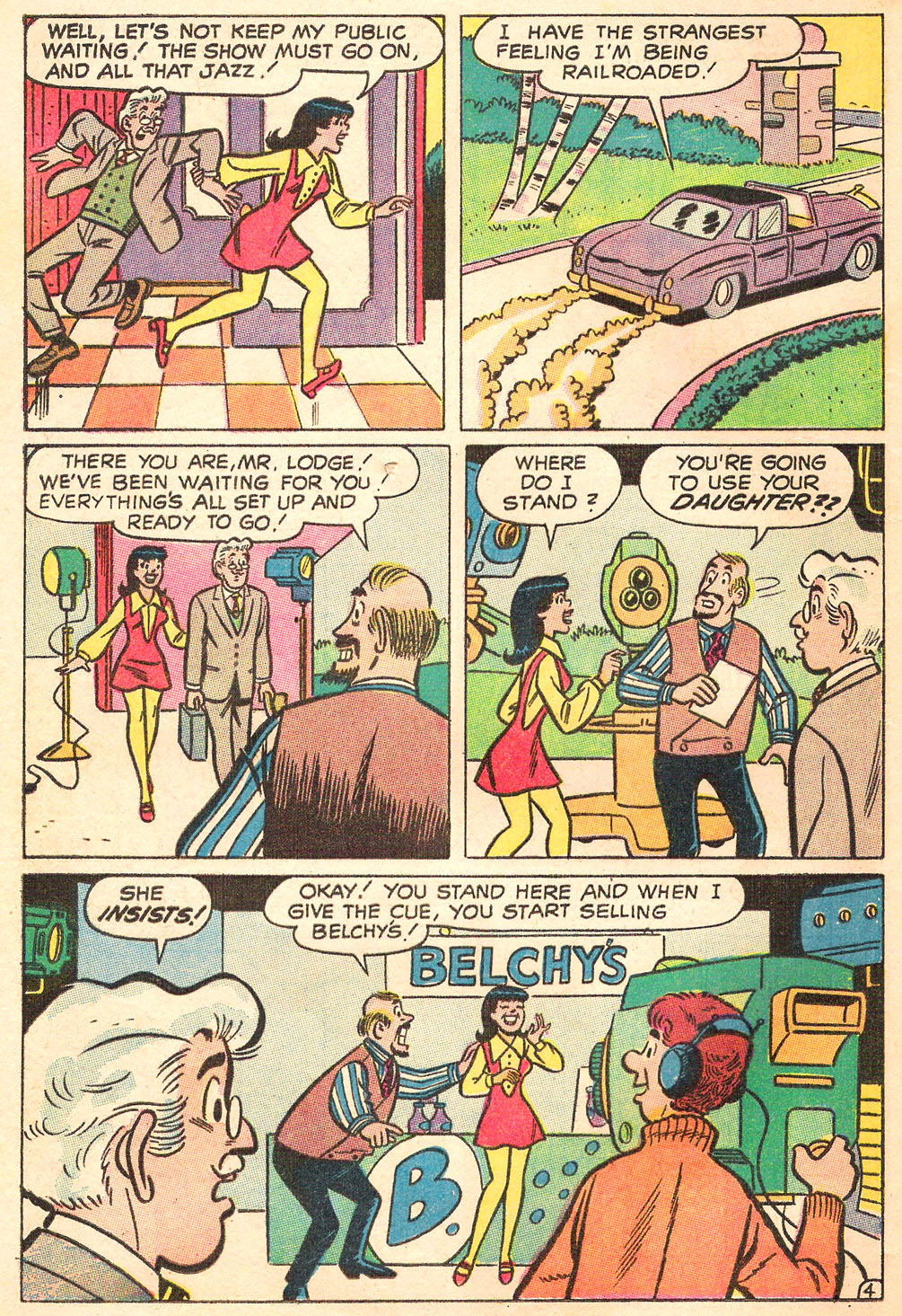 Read online Archie's Girls Betty and Veronica comic -  Issue #169 - 16