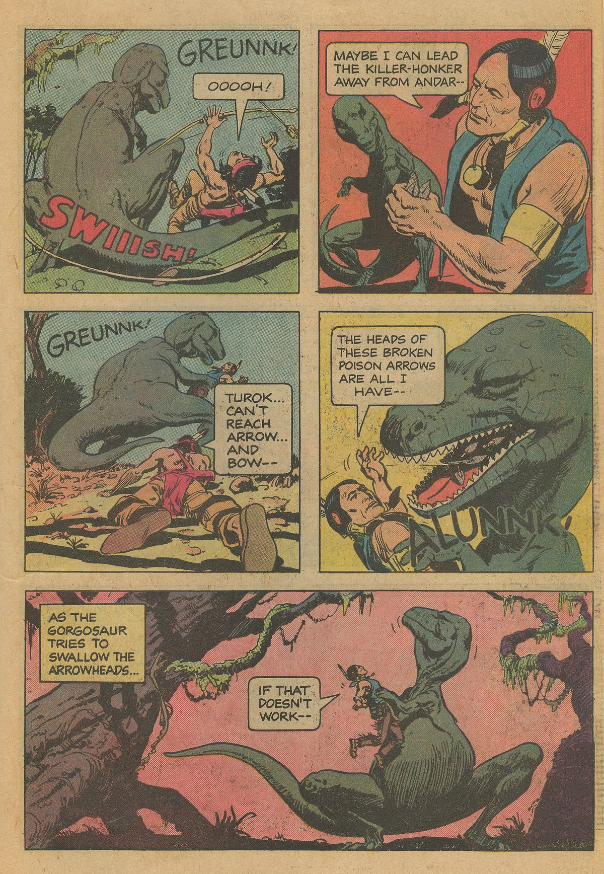 Read online Turok, Son of Stone comic -  Issue #126 - 27