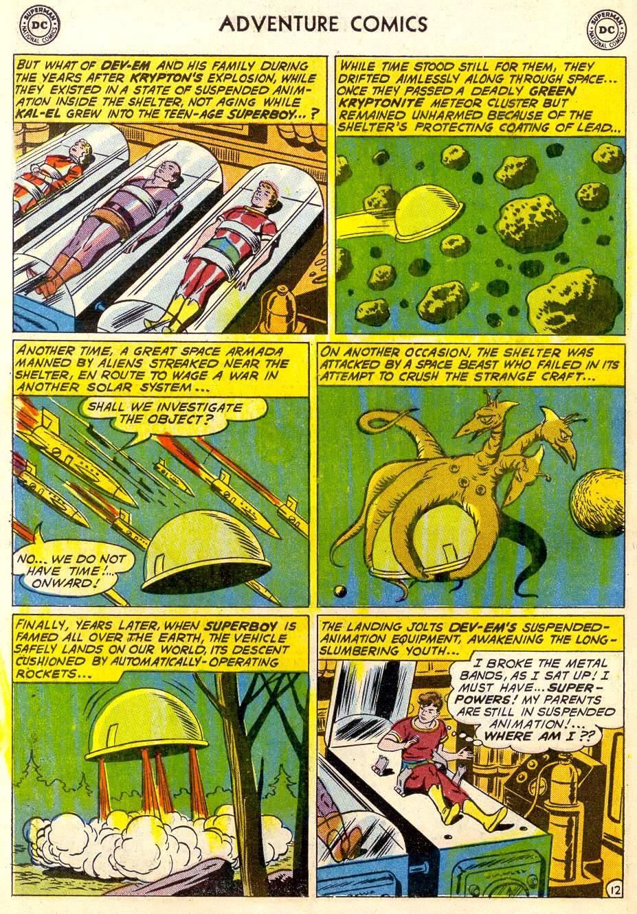 Read online Adventure Comics (1938) comic -  Issue #287 - 14