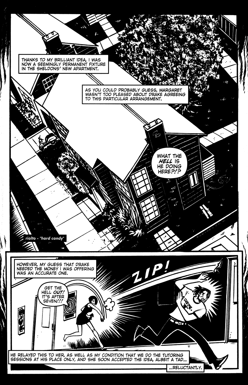 Read online Scooter Girl comic -  Issue #3 - 3
