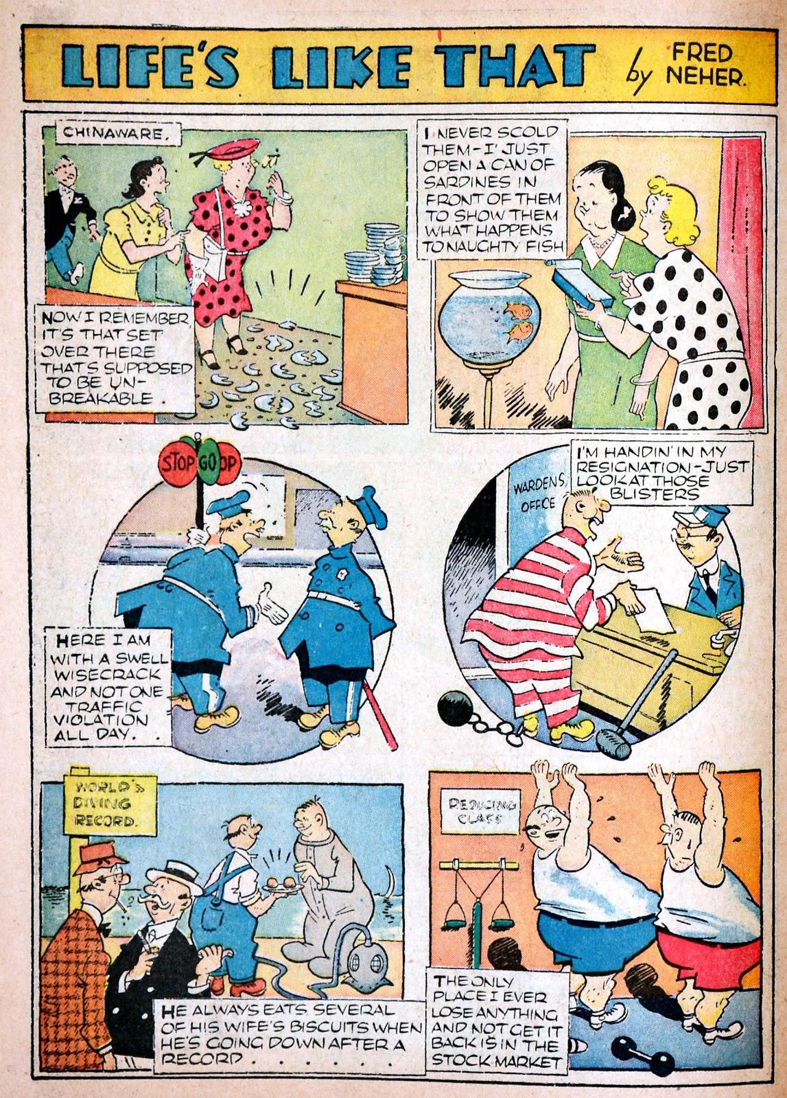Read online Famous Funnies comic -  Issue #68 - 57