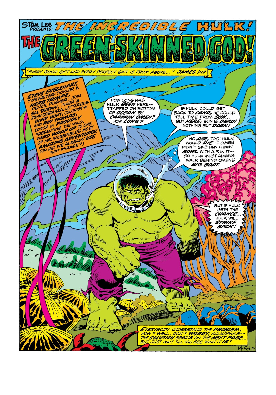 Read online Marvel Masterworks: The Incredible Hulk comic -  Issue # TPB 9 (Part 2) - 78