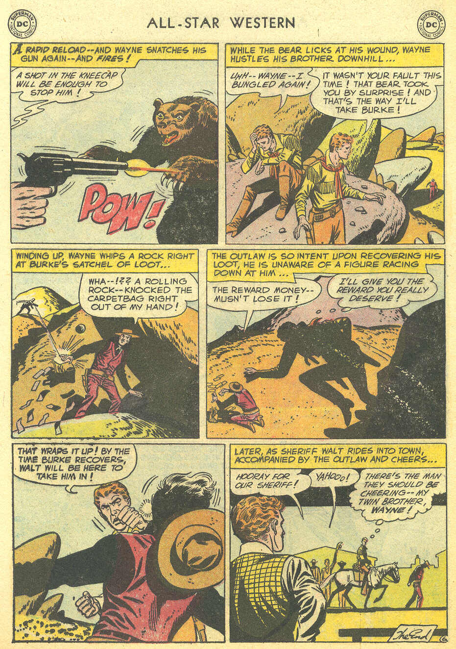 Read online All-Star Western (1951) comic -  Issue #95 - 8