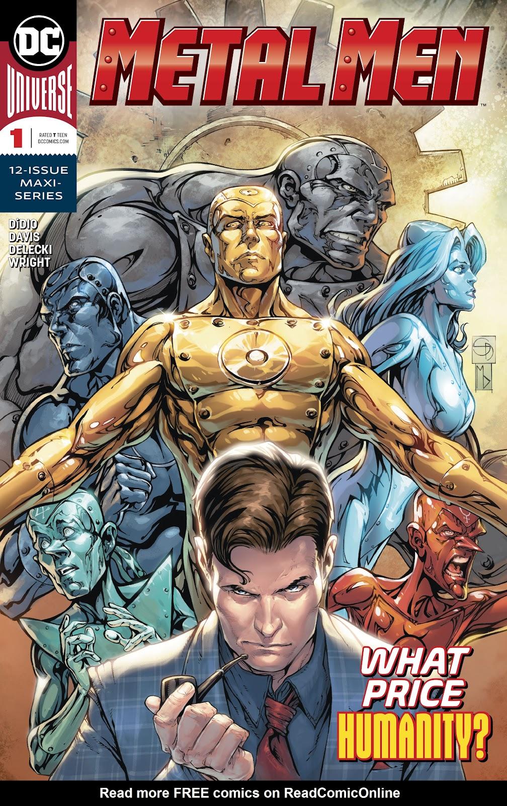 Read online Metal Men (2019) comic -  Issue #1 - 1