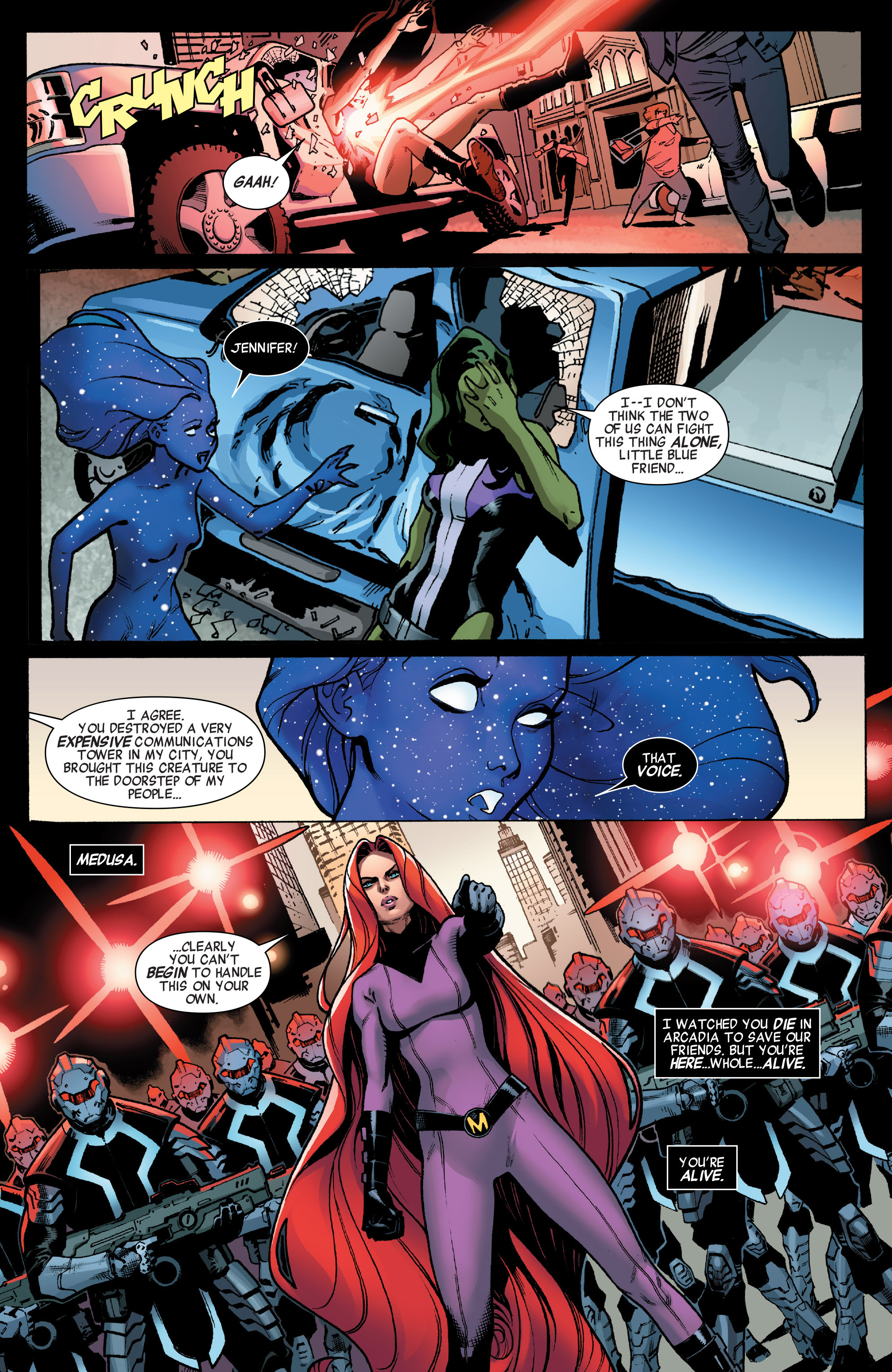 Read online A-Force (2016) comic -  Issue #1 - 20