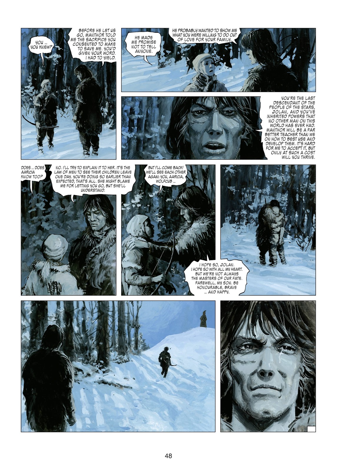 Read online Thorgal comic -  Issue #21 - 50