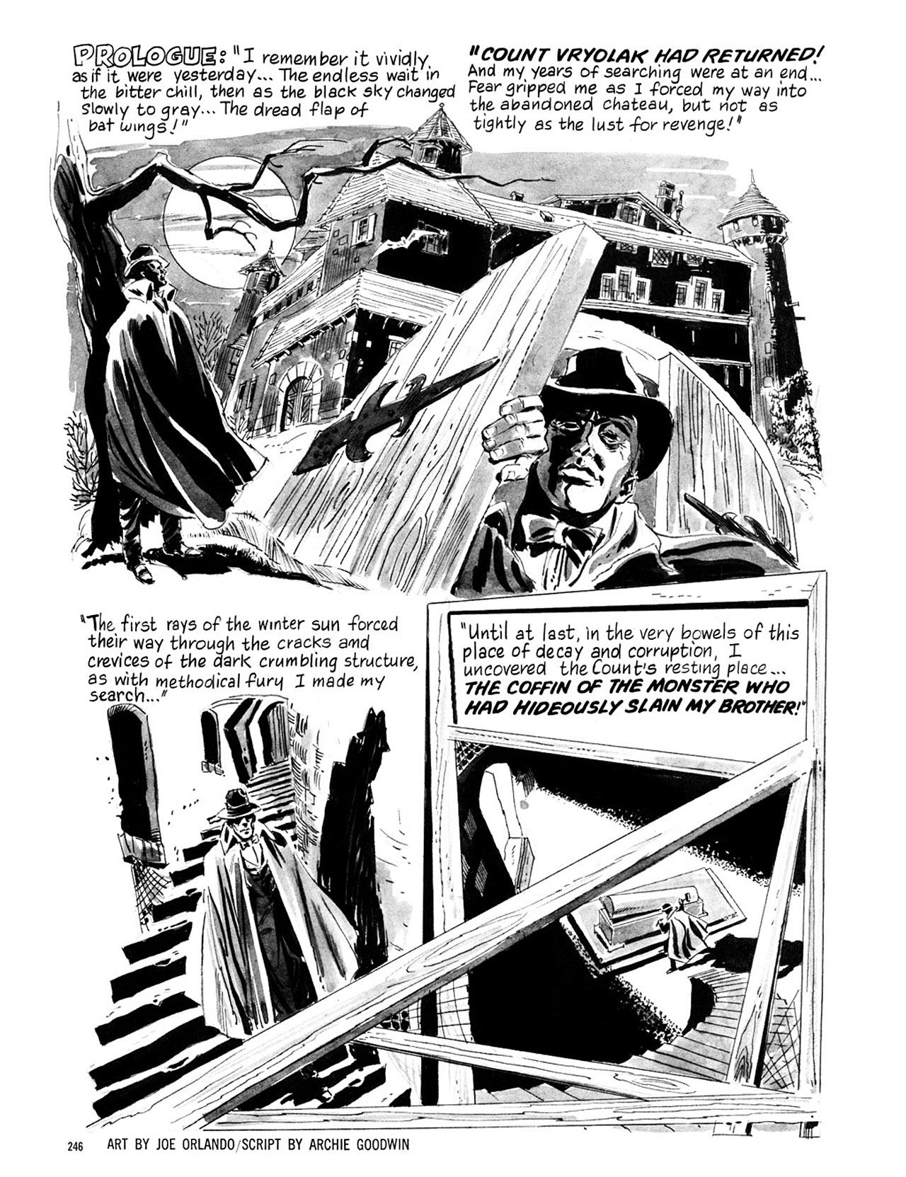 Read online Eerie Archives comic -  Issue # TPB 1 - 247