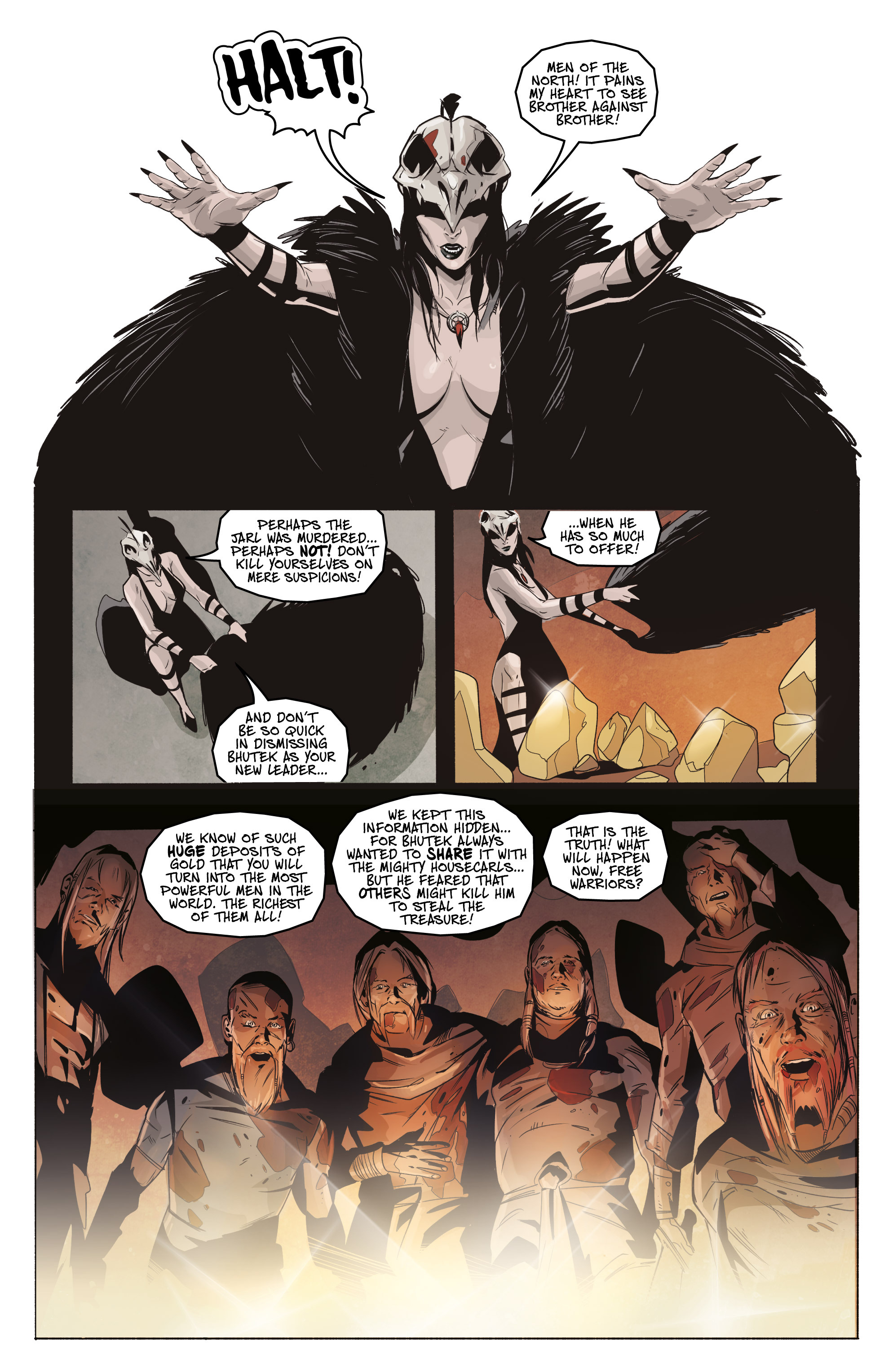 Read online Ghost Wolf comic -  Issue #3 - 12