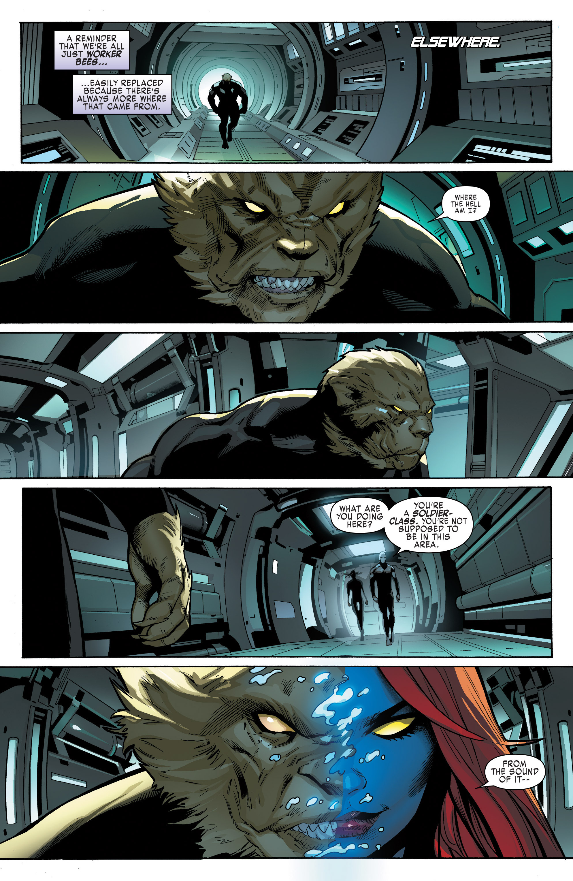 Read online Uncanny X-Men (2016) comic -  Issue #13 - 15
