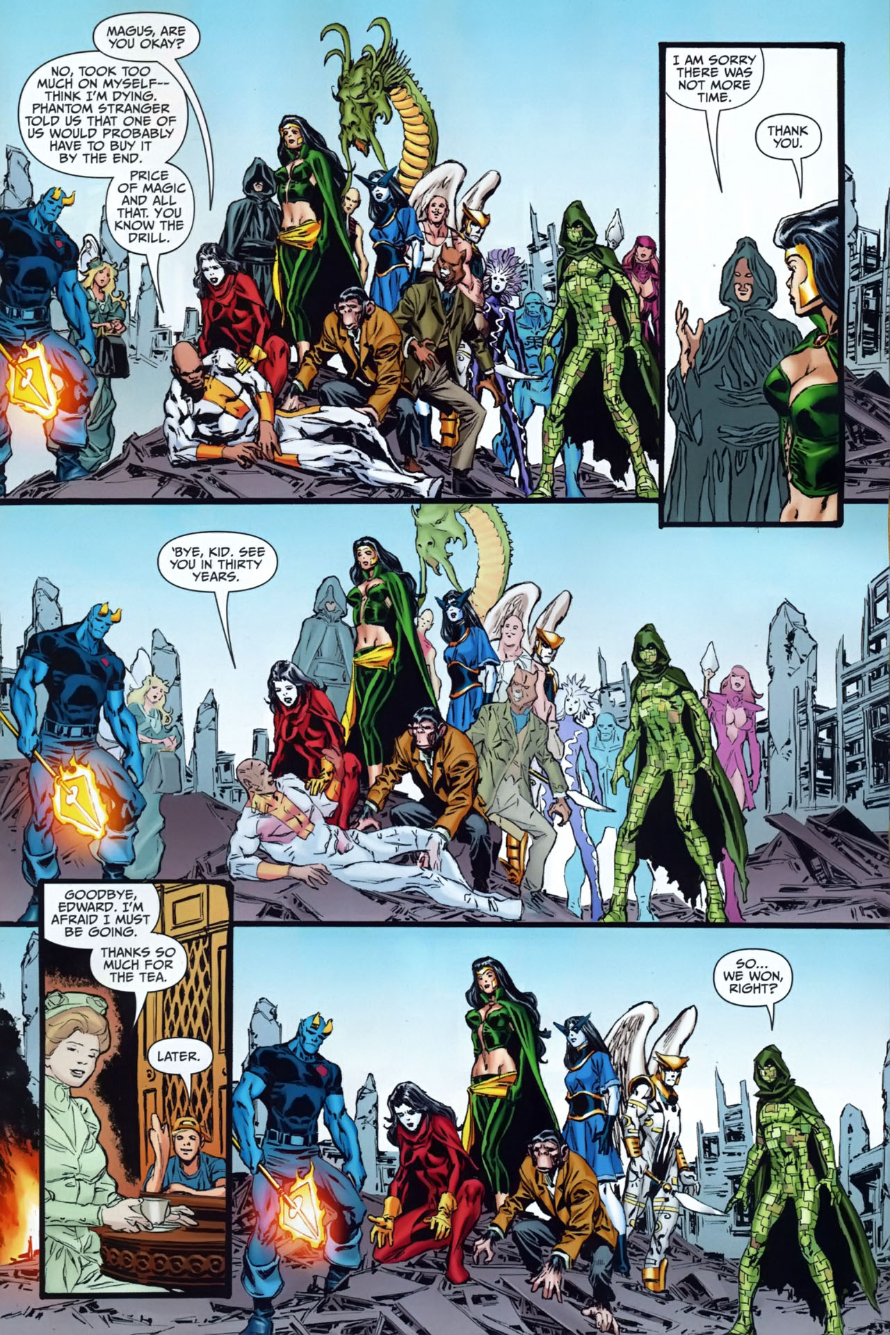 Read online Shadowpact comic -  Issue #25 - 18