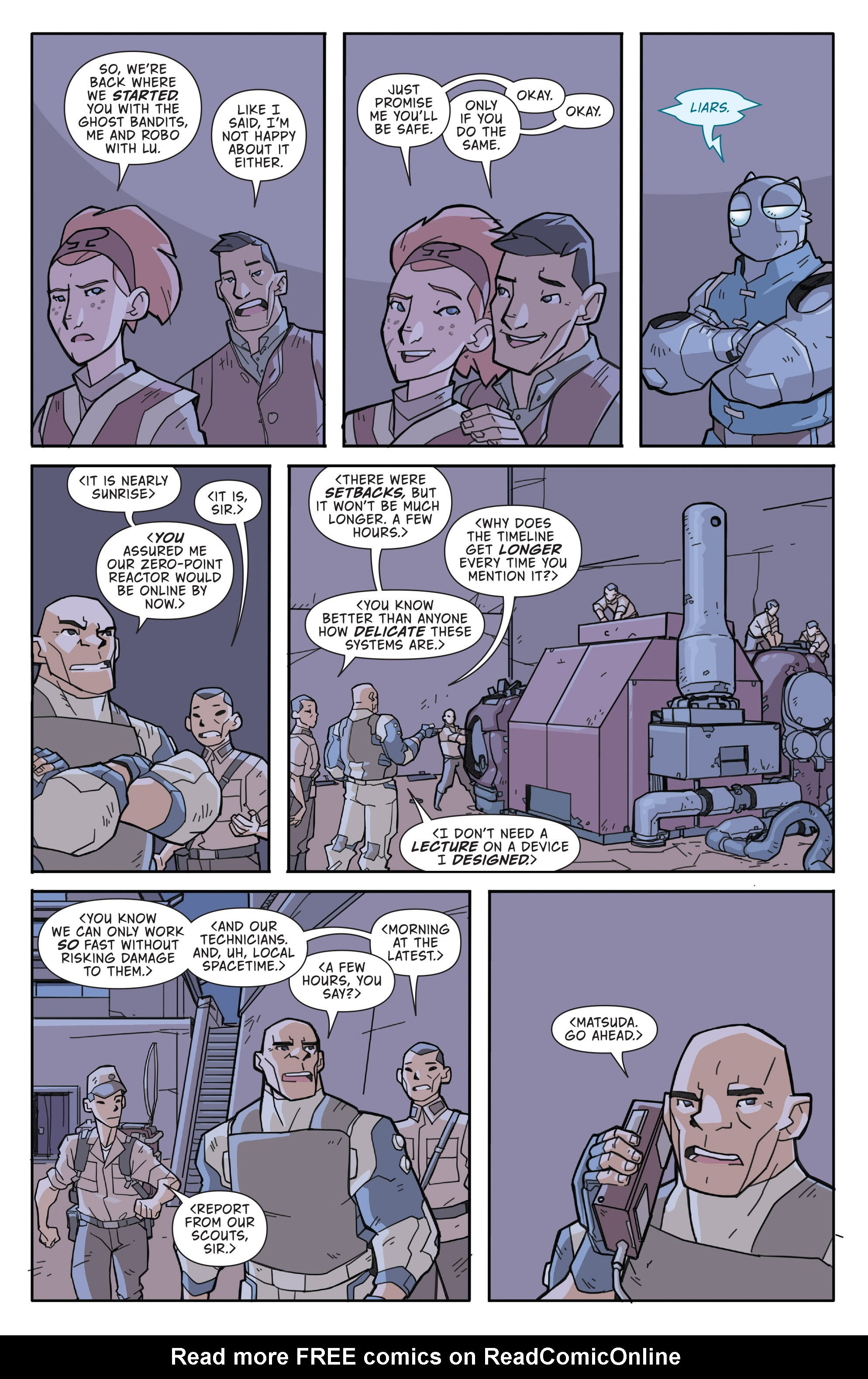 Read online Atomic Robo and the Temple of Od comic -  Issue #3 - 16