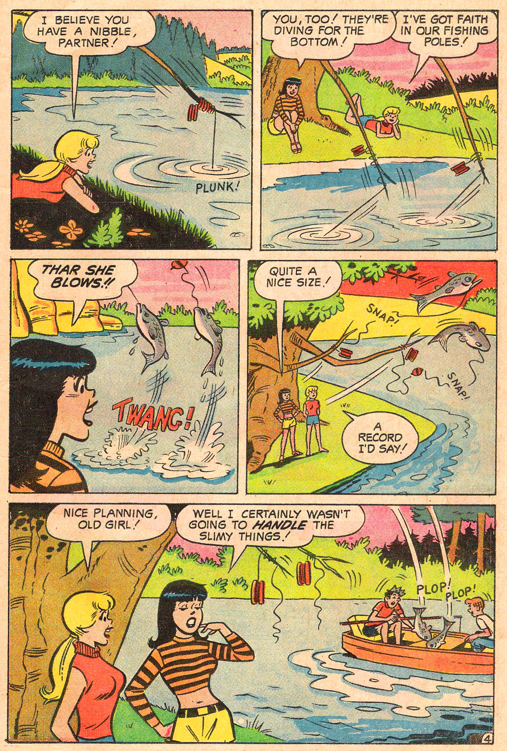 Read online Archie's Girls Betty and Veronica comic -  Issue #154 - 22