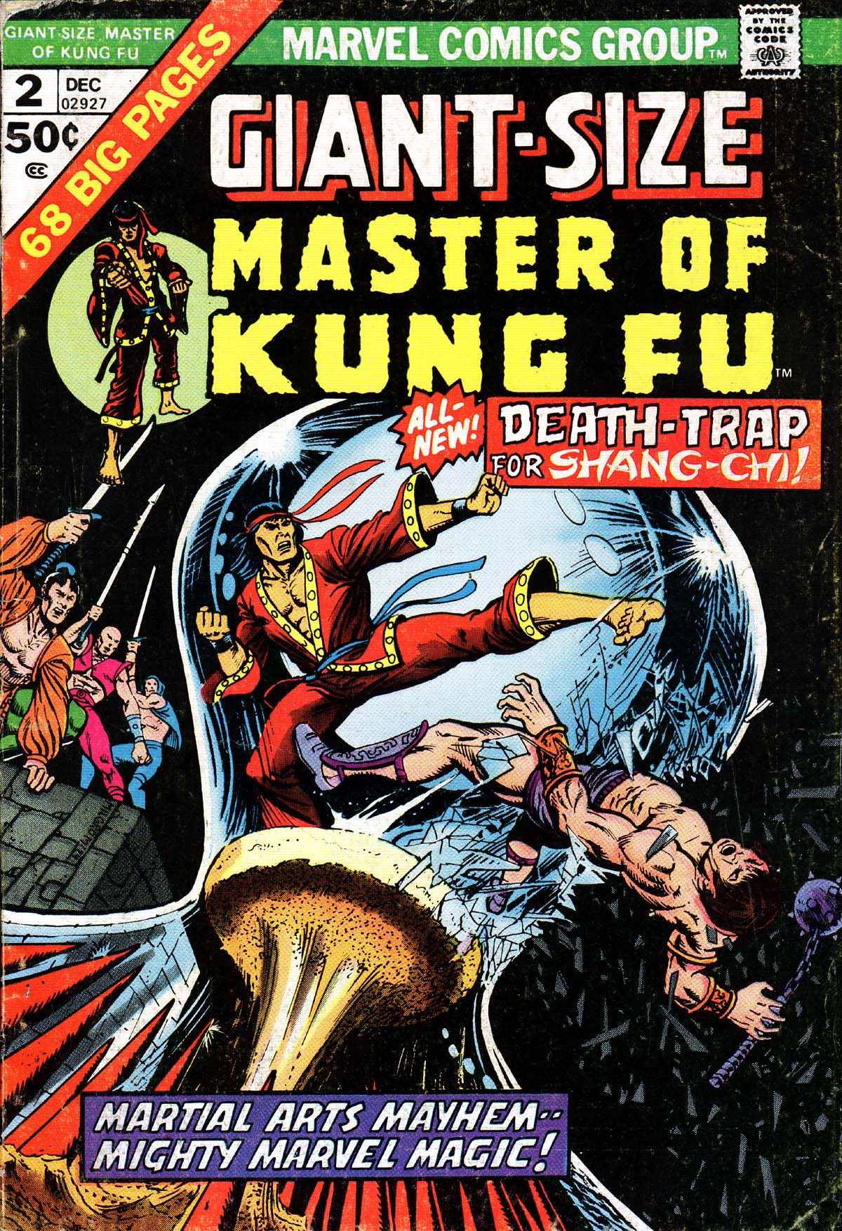 Giant-Size Master of Kung Fu 2 Page 1