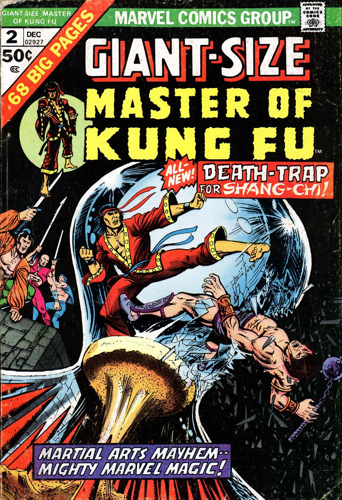 Giant-Size Master of Kung Fu issue 2 - Page 1