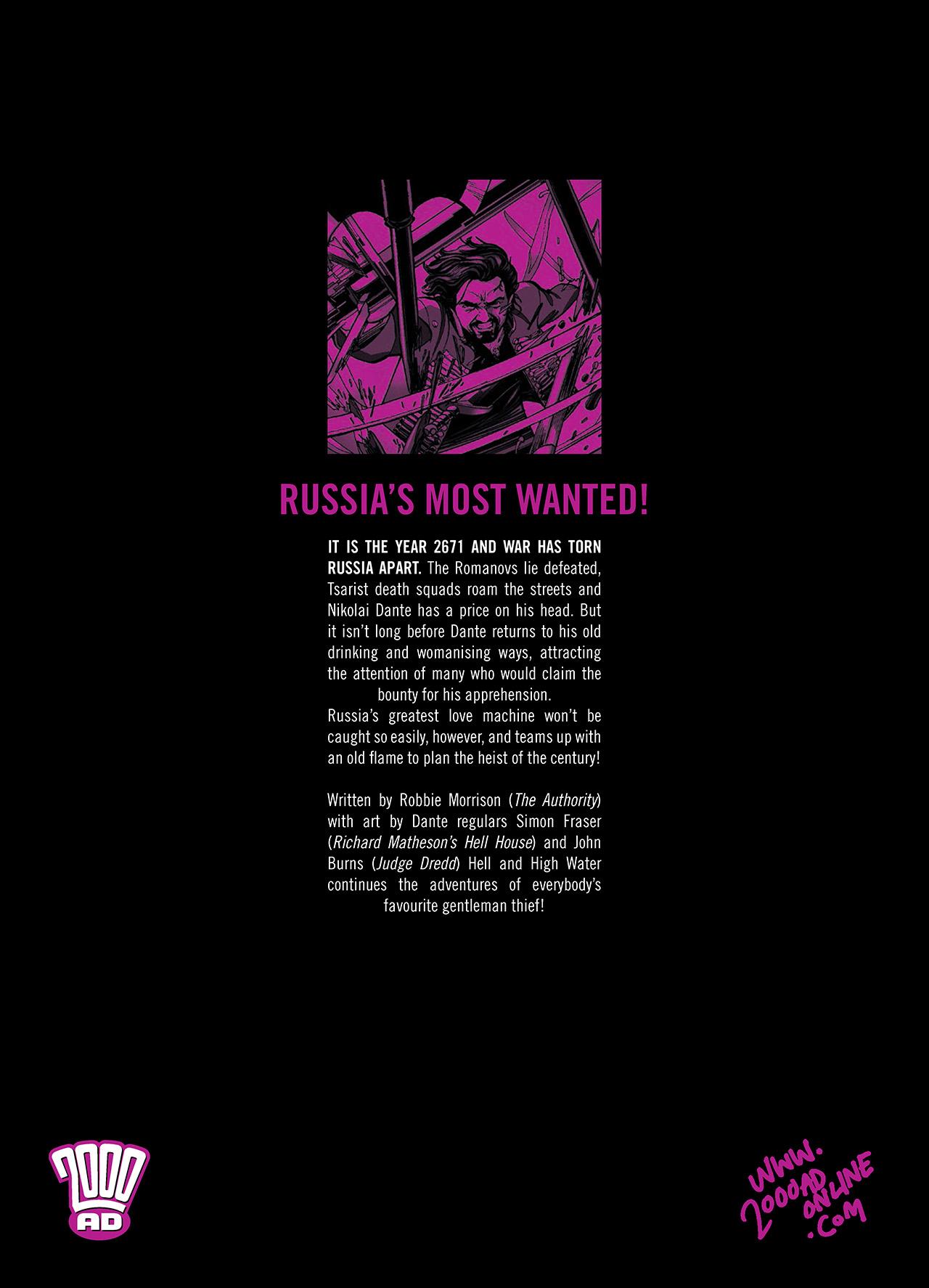 Read online Nikolai Dante comic -  Issue # TPB 6 - 207