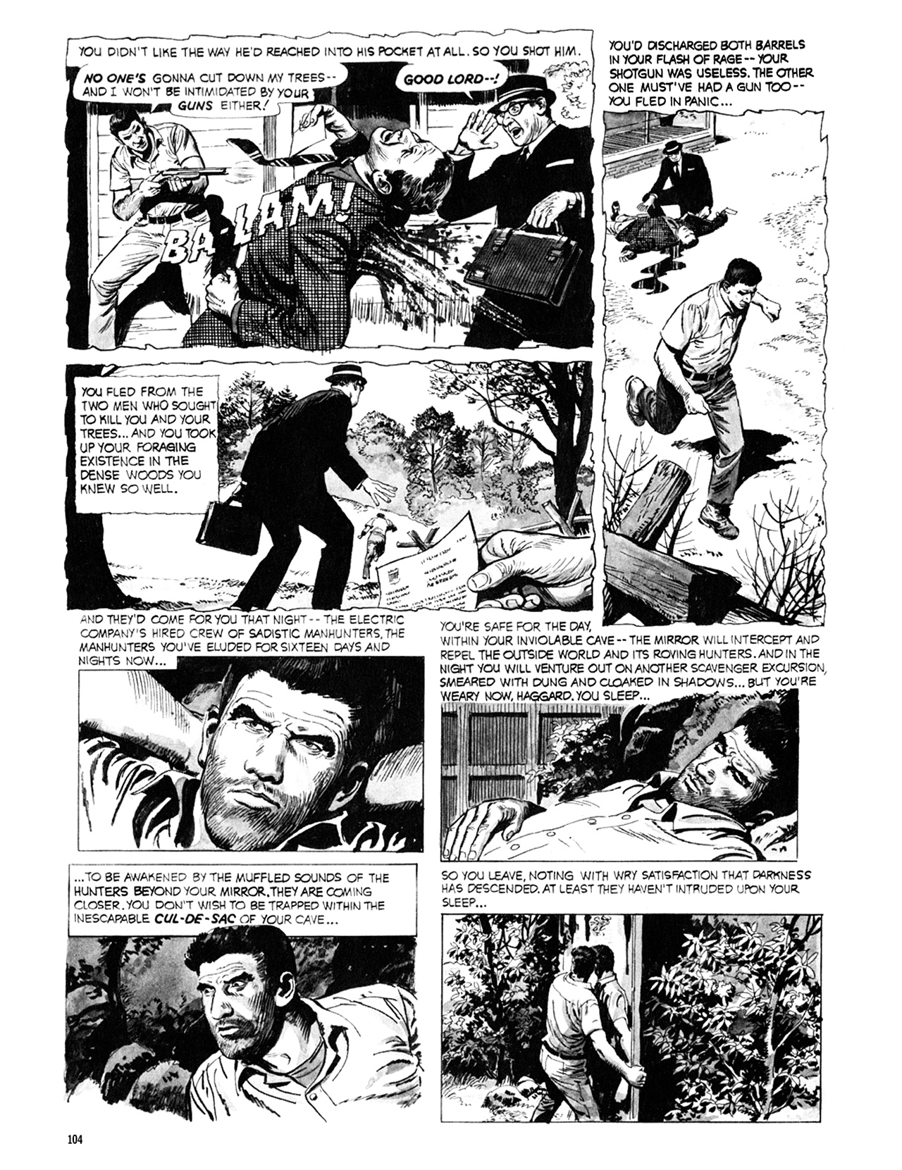 Read online Eerie Archives comic -  Issue # TPB 9 - 105