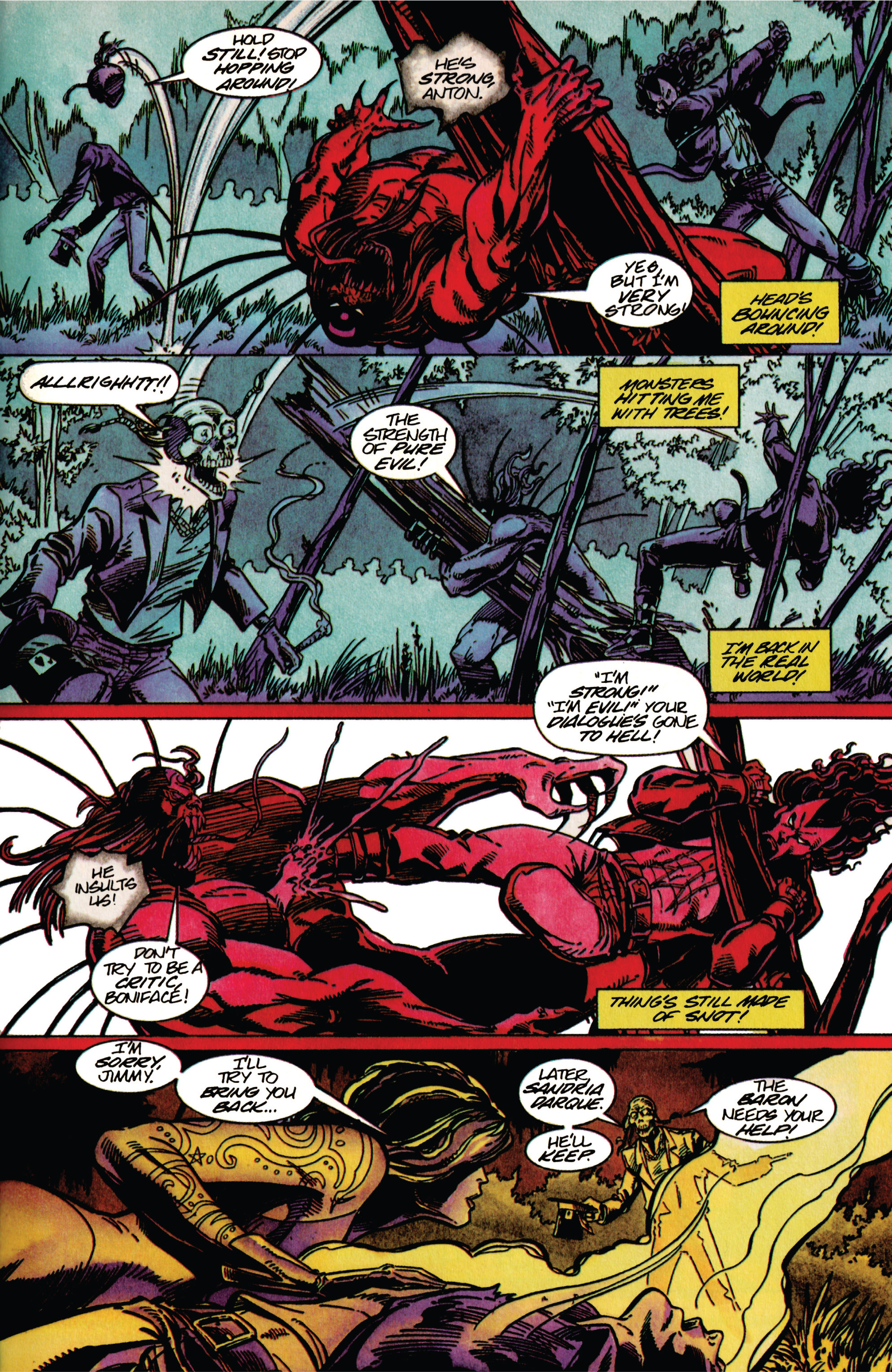 Read online Shadowman (1992) comic -  Issue #33 - 9