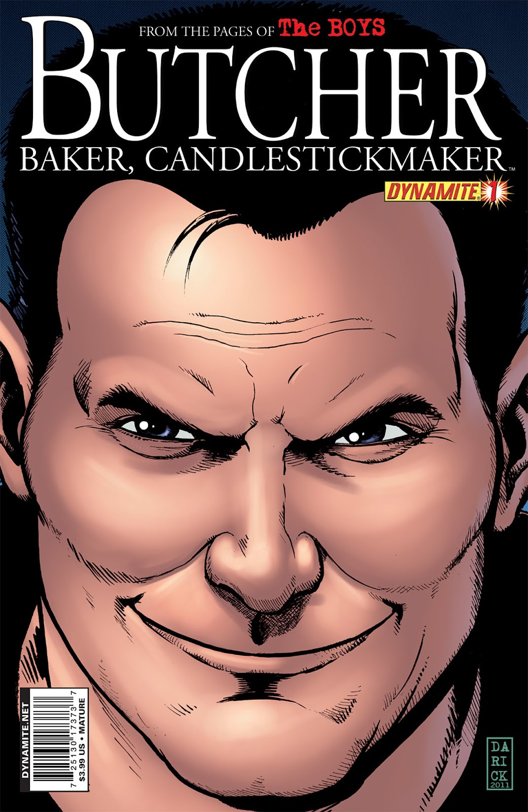 Read online The Boys: Butcher, Baker, Candlestickmaker comic -  Issue #1 - 1