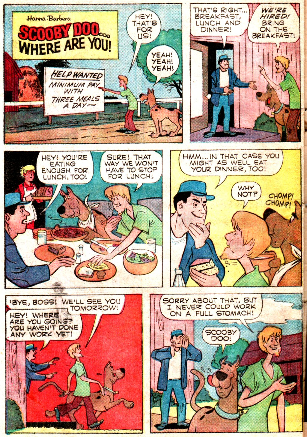 Read online Scooby-Doo... Where Are You! (1970) comic -  Issue #3 - 32