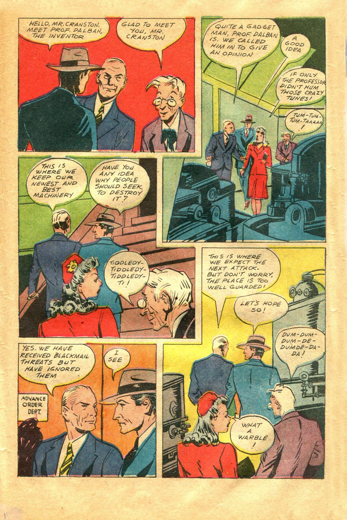 Read online Shadow Comics comic -  Issue #48 - 37