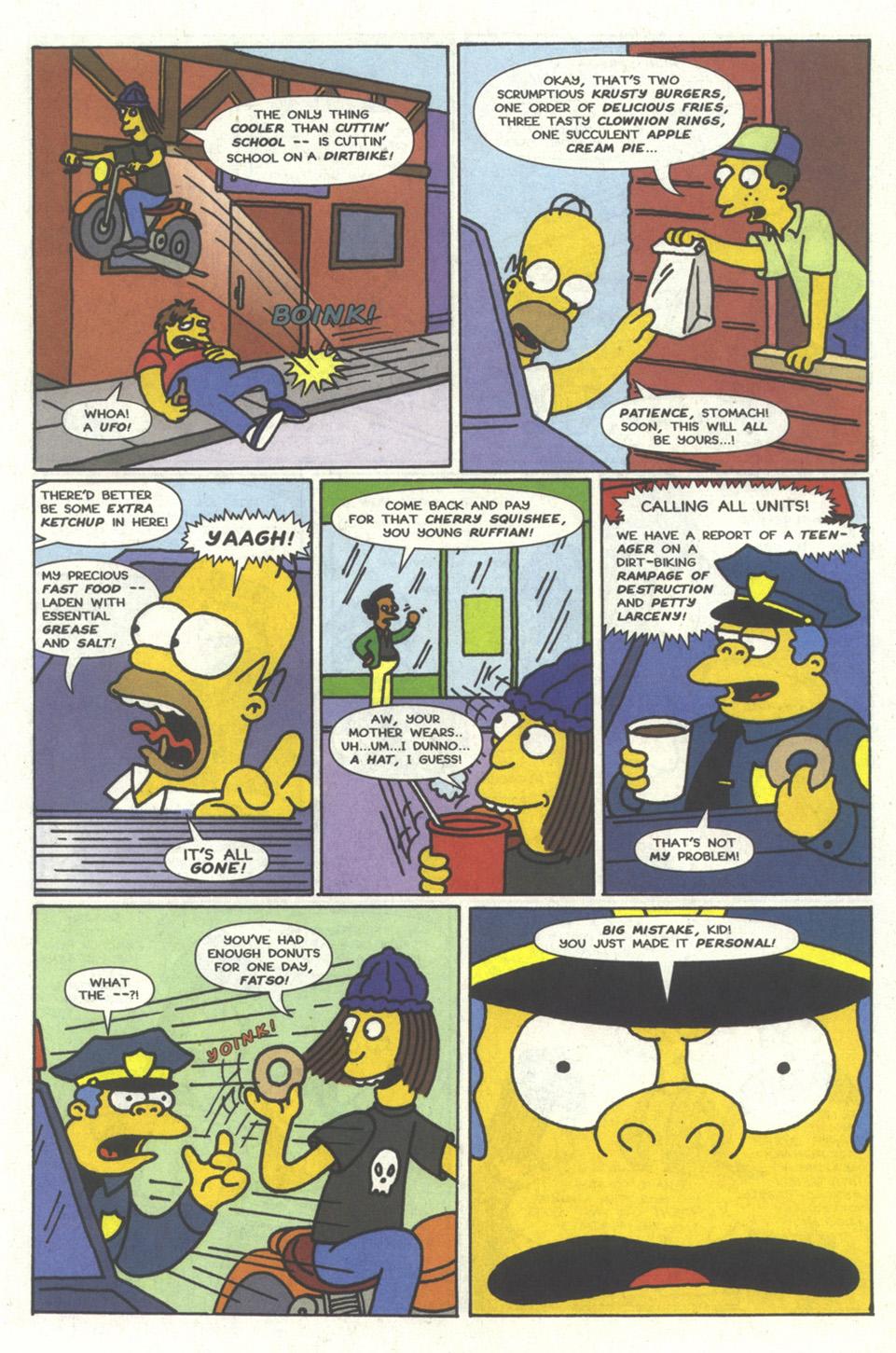Read online Simpsons Comics comic -  Issue #13 - 31