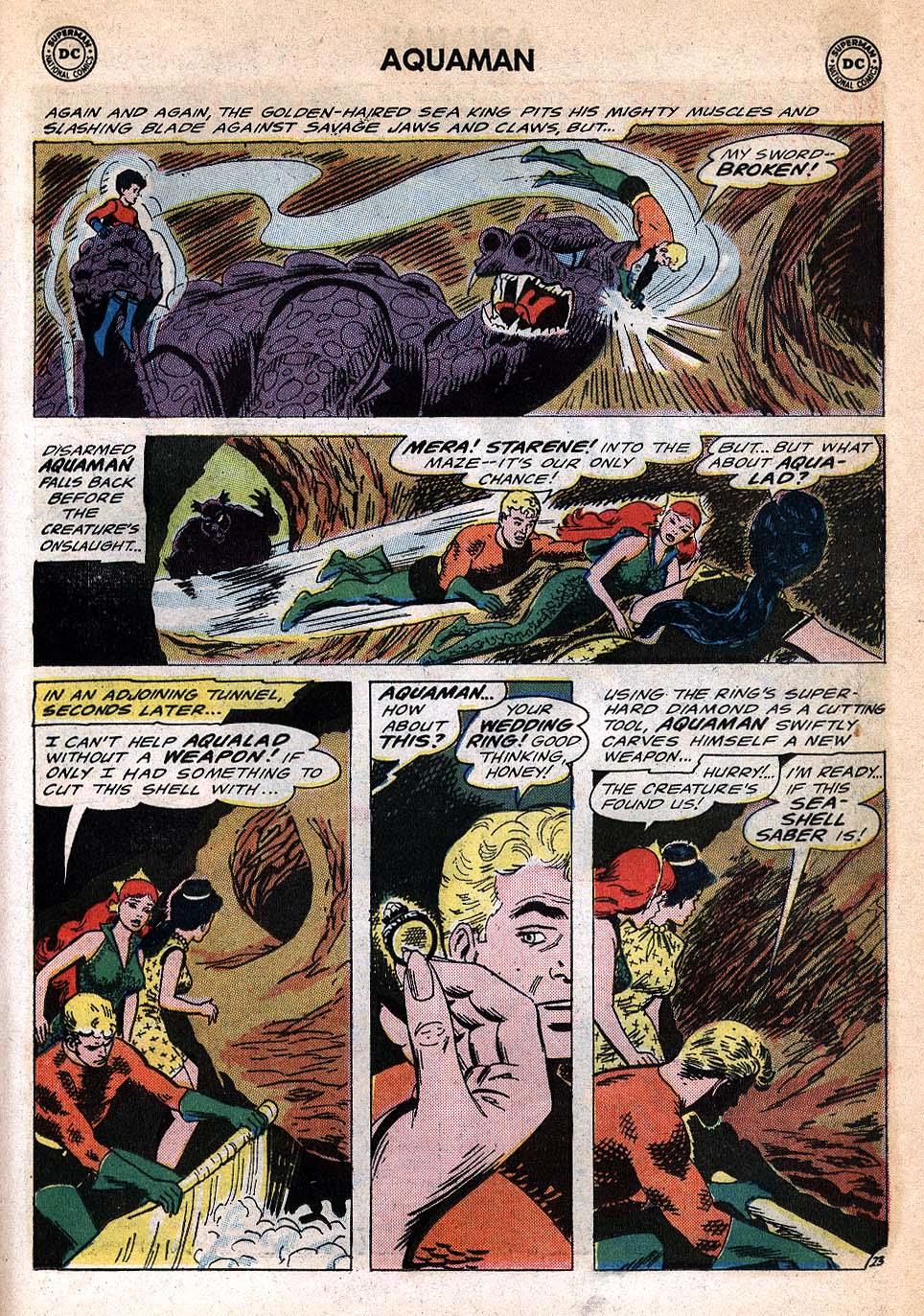 Read online Aquaman (1962) comic -  Issue #20 - 31