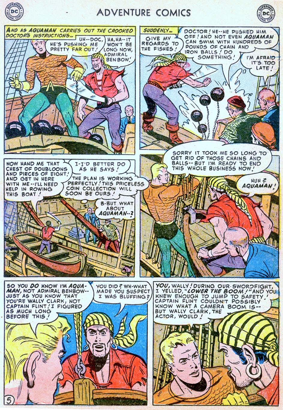 Read online Adventure Comics (1938) comic -  Issue #178 - 21