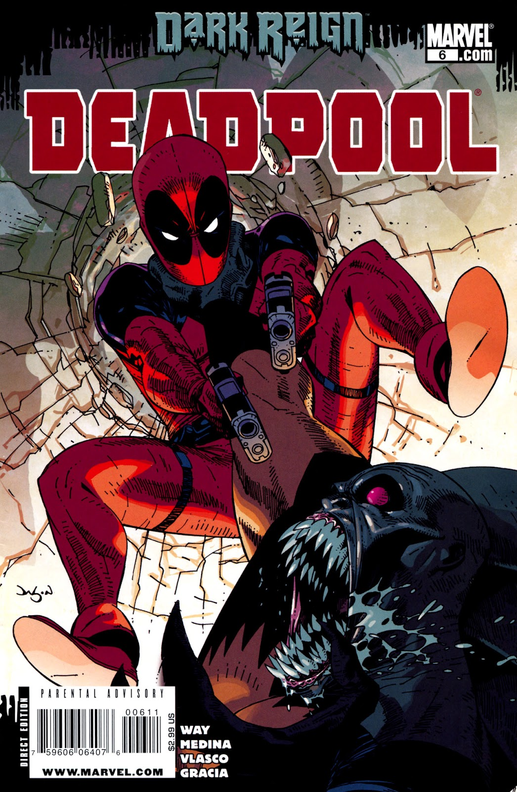Read online Deadpool (2008) comic -  Issue #6 - 1
