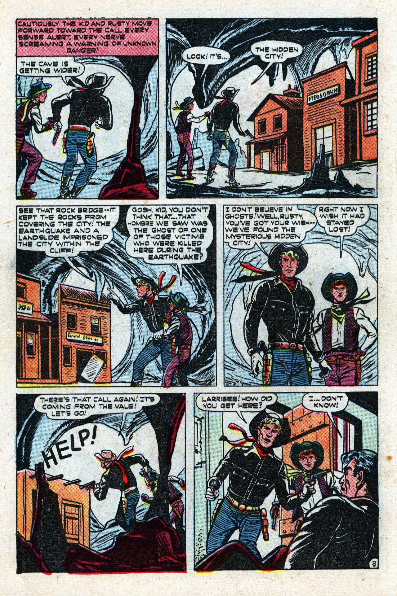 Read online Two-Gun Kid comic -  Issue #10 - 10