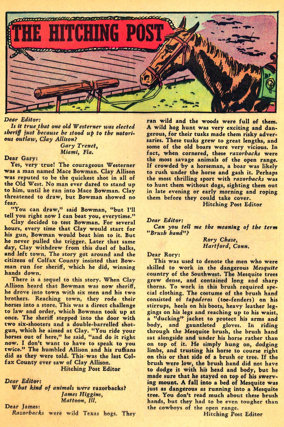 Read online All-Star Western (1951) comic -  Issue #99 - 20